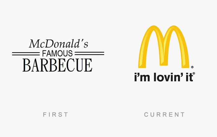 El antes y después de los logos