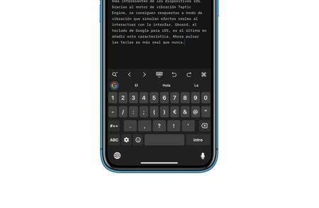 El teclado Gboard para iOS se actualiza y ahora cuenta con respuesta háptica al pulsar sus teclas