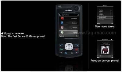 ¿iTunes en un Nokia?
