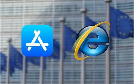 La Comisión Europea multando a Apple con hasta 23.000 millones de euros es el nuevo Unión Europea vs. Microsoft por Internet Explorer