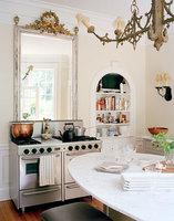 Un espejo sobre la cocina, ¿buena o mala idea?