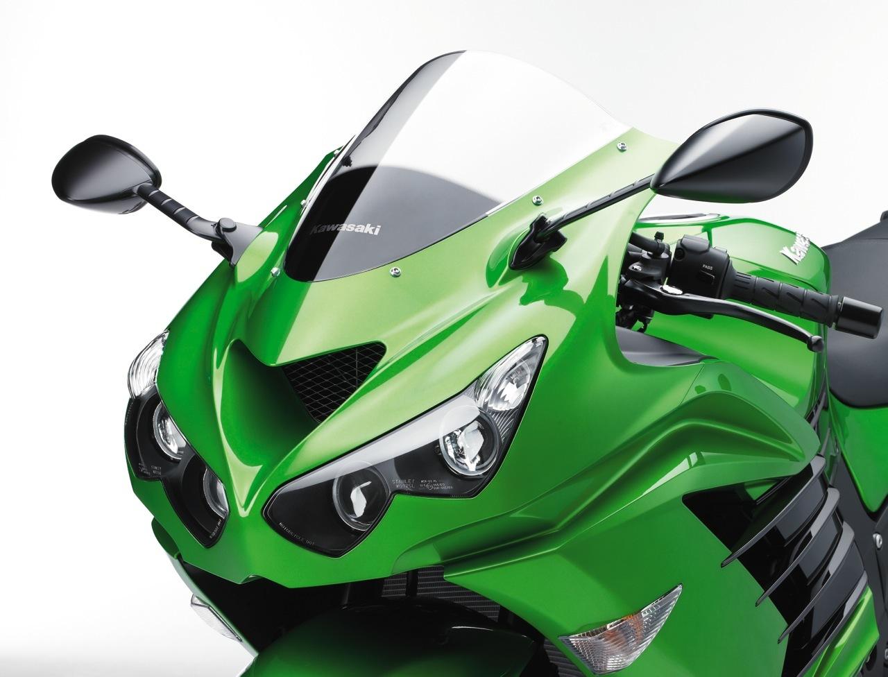 Foto de Nueva Kawasaki ZZR 1400 2012, el Sport Turismo nunca muere (8/15)