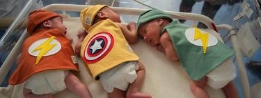 Los bebés ingresados en la UCIN del hospital Clinic de Barcelona se visten de superhéroes para celebrar el Carnaval