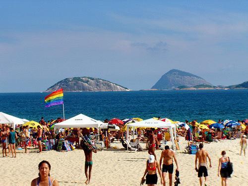 Los turistas gays gastan más que los heterosexuales