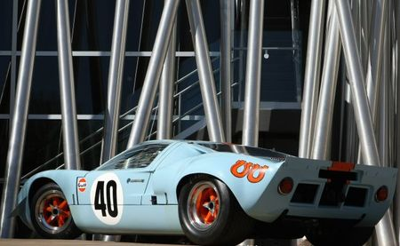 Ford GT40 RM Auctions vista trasera
