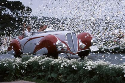 (2000)1937 Delahaye 135 M Figoni et Falaschi Cabriolet