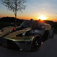 KTM X-Bow Dubai-Gold-Edition por Wimmer