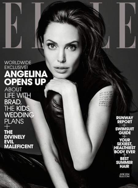 Angelina Jolie Elle