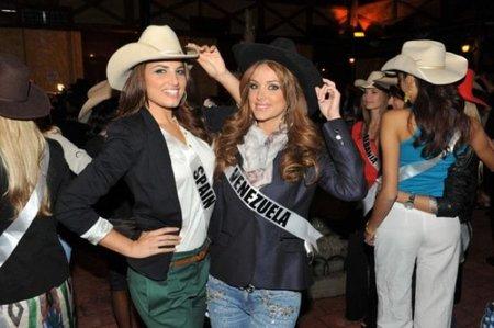 Miss España y Venezuela