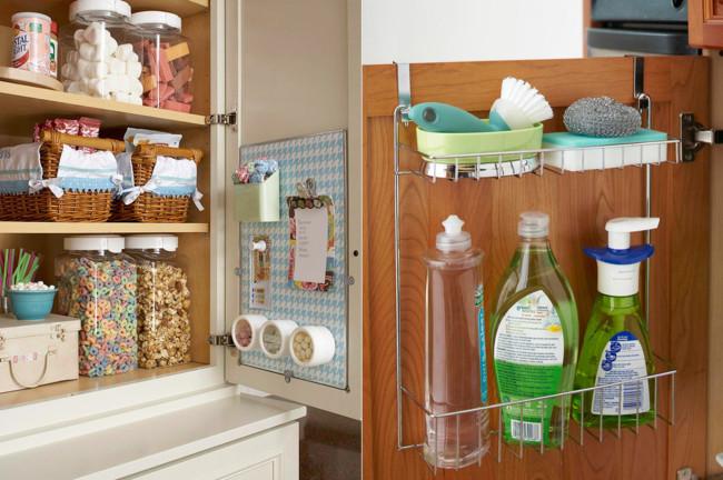 Siete secretos para ordenar tu cocina como en tus mejores for Ganchos para colgar en las puertas