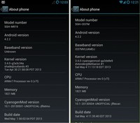 CyanogenMod 10.1 disponible para el Galaxy S4
