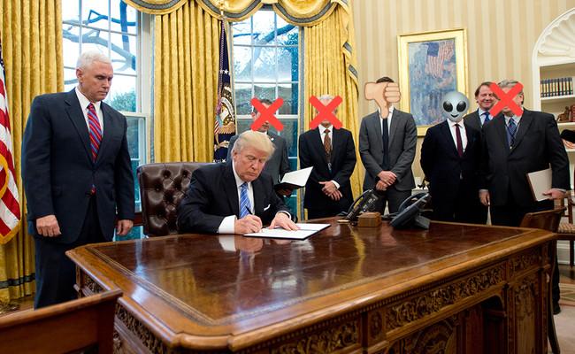 Los 23 asesores y secretarios que ya han dimitido o han sido despedidos de la Administración Trump