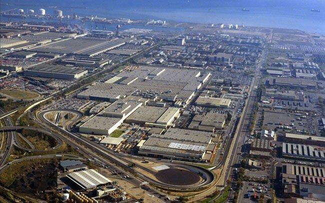 Factoría Nissan Barcelona