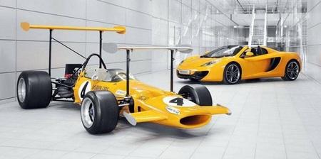 McLaren rinde un emocionante tributo a su creador