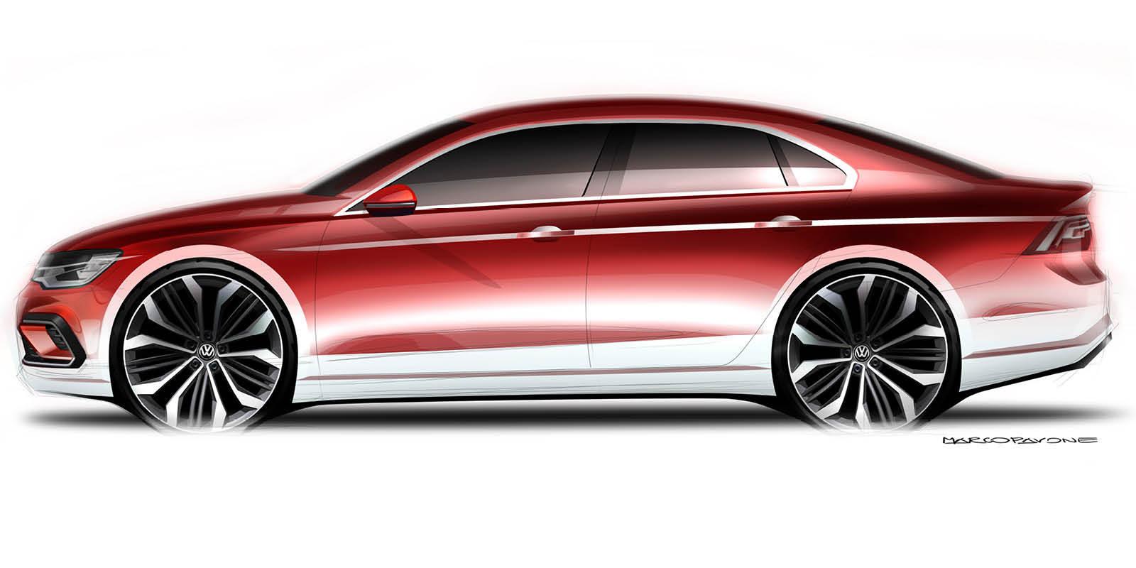 Foto de Volkswagen New Midsize Coupé Concept (1/3)