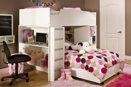 dormitorio compacto chicas
