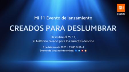 El Xiaomi Mi 11 se presentará internacionalmente el 8 de febrero
