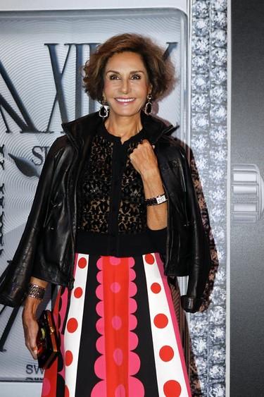 La falda de Valentino que encumbró a lo más alto a Naty Abascal en la fiesta de Suárez