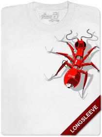 La hormiga llega a La Fraise