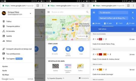 Google Maps Go Principal