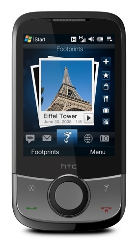 HTC Touch Cruise, crea postales digitales