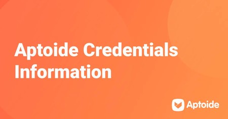 Aptoide Credentials Informations
