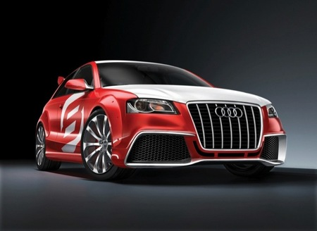 Audi RS3 en el Salón de Fráncfort (según el Twitter de Audi)