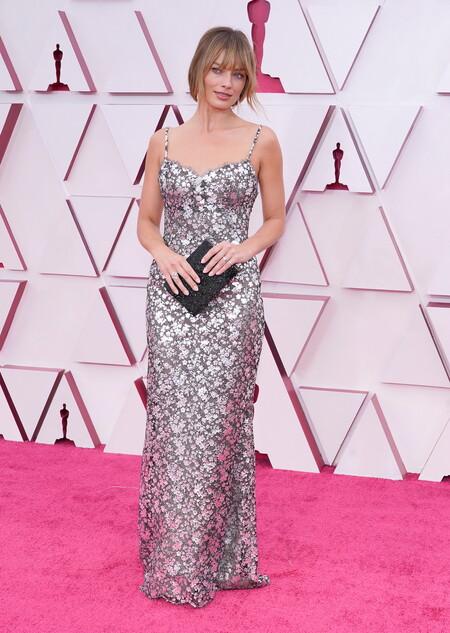 Margot Robbie Chanel Alta Costura Oscar 2021