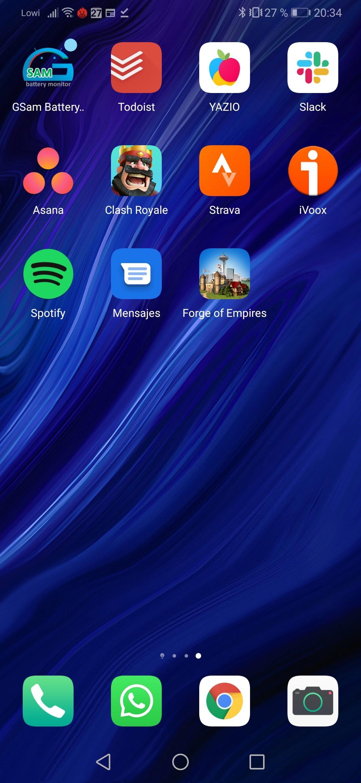 Foto de Huawei P30 interfaz (6/31)