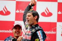 Victoria de Mark Webber y doblete de Red Bull en el GP de Alemania