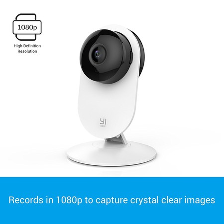 Oferta Flash: cámara Xiaomi Yi Home 1080p por 34,98 euros y envío gratis desde España
