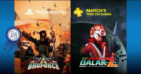 Incontables disparos llegan con los juegos de PlayStation Plus de Marzo