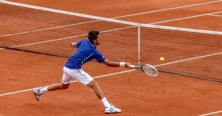 Ejercicio para el calentamiento específico en los deportes de raqueta