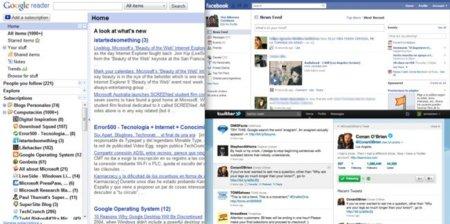 ¿Facebook y Twitter reemplazarán a los lectores de feeds?, difícilmente...