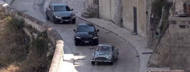"""El Aston Martin DB5 es captado infraganti durante la filmación de """"No Time to Die"""""""