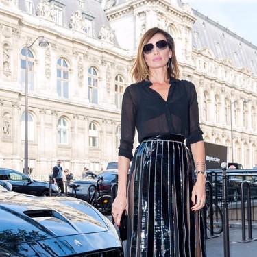 Nieves Álvarez nos da una lección de estilo en la Semana de la Moda de París