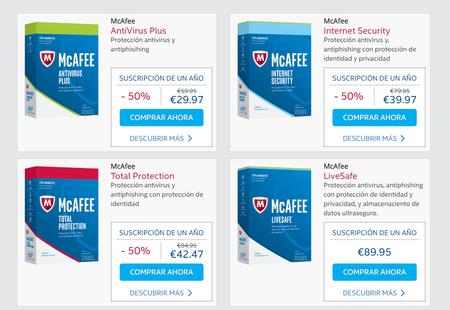 Tienda Oficial Mcafee Spain Lo Ultimo En Proteccion 2016