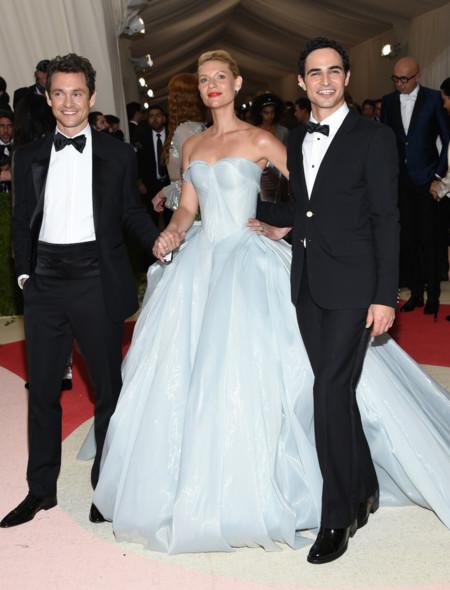 Claire Danes, princesa Disney futurista en la Gala MET 2016