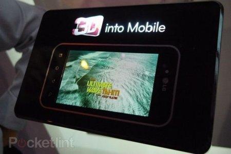 LG prepara un teléfono 3D que no necesitará gafas para funcionar