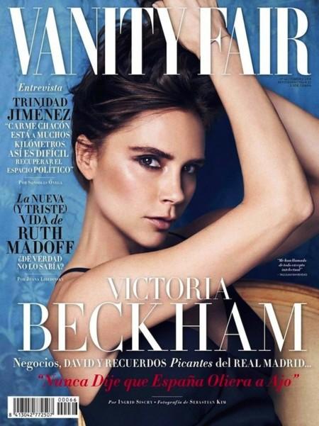 vanity fair y victoria beckham primer plano