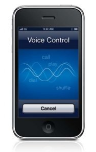 how to stop voice control on iphone 4