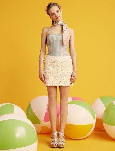 Crochet Blanco, lookbook Verano 2011