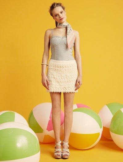 Crochet Blanco, lookbook Verano 2011