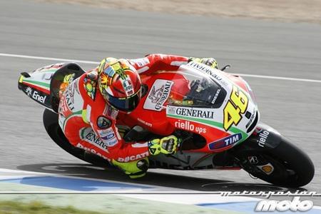 Valentino Rossi en Jerez