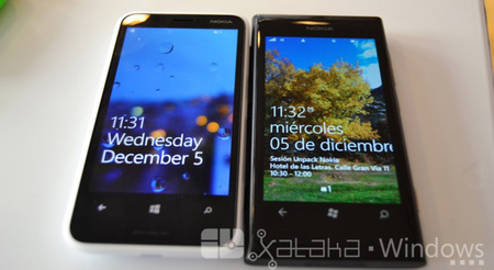 Lumia 620 y 800
