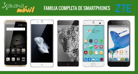Así queda el catálogo completo de smartphones ZTE tras la llegada del nuevo Axon Mini