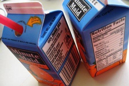 A partir de diciembre del 2014 habrá novedades en el etiquetado de nuestros alimentos