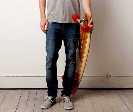 Longskate, la tabla de skate de Pull and Bear