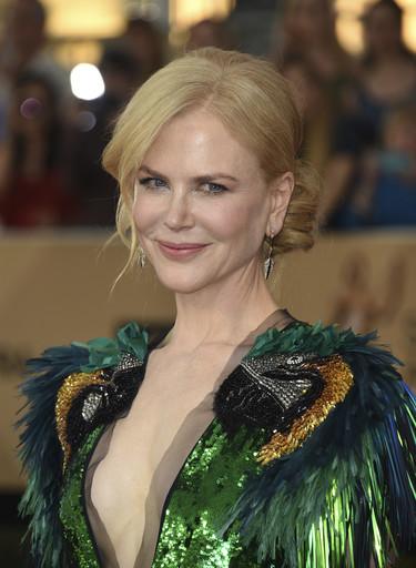 Una espectacular Nicole Kidman hace sombra a todas las invitadas de los SAG Awards 2017