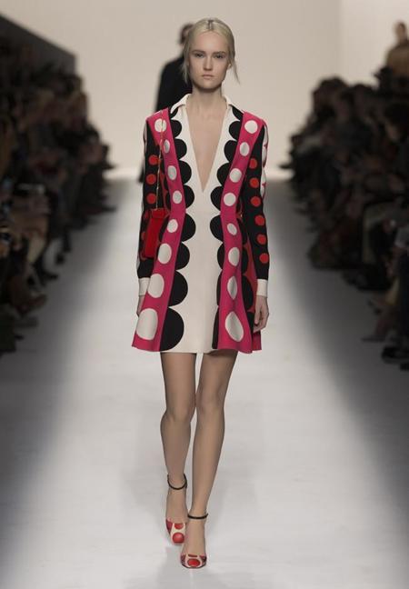 Los círculos triunfadores de Valentino, ¿conoces ya el estampado del otoño?